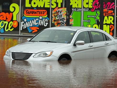 Car Flood Information